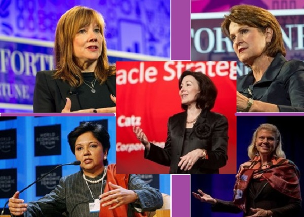 5 Women CEO's of the Biggest Companies in the World