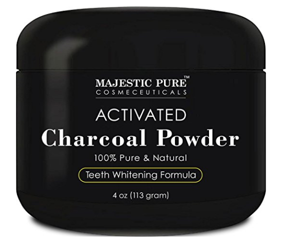 Majestic Pure Teeth Whitening Charcoal Powder