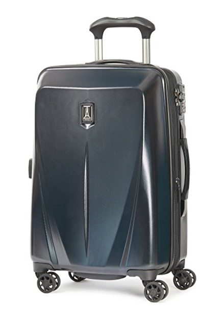 "Travelpro Walkabout 3 25"" Hard Side Spinner Luggage, Black"