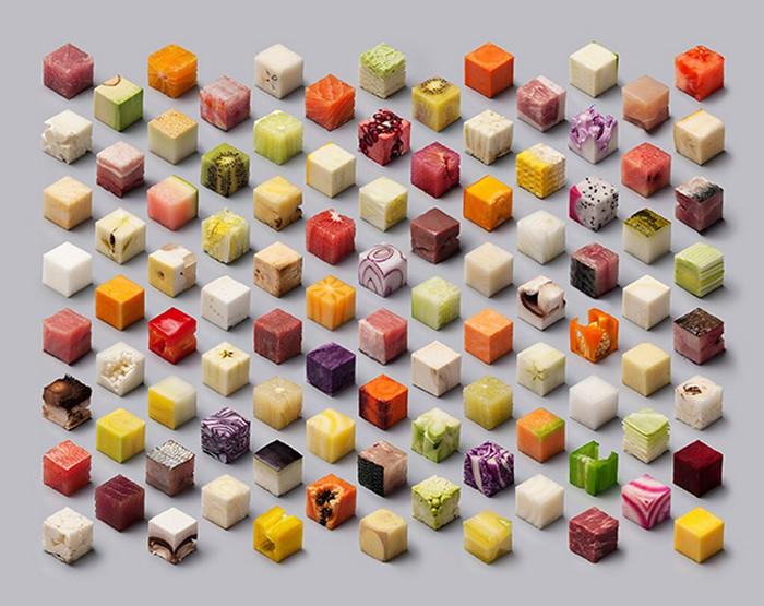 food cubes