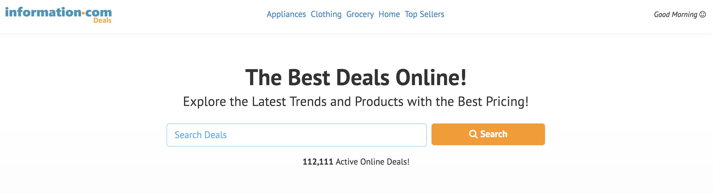 best deals online