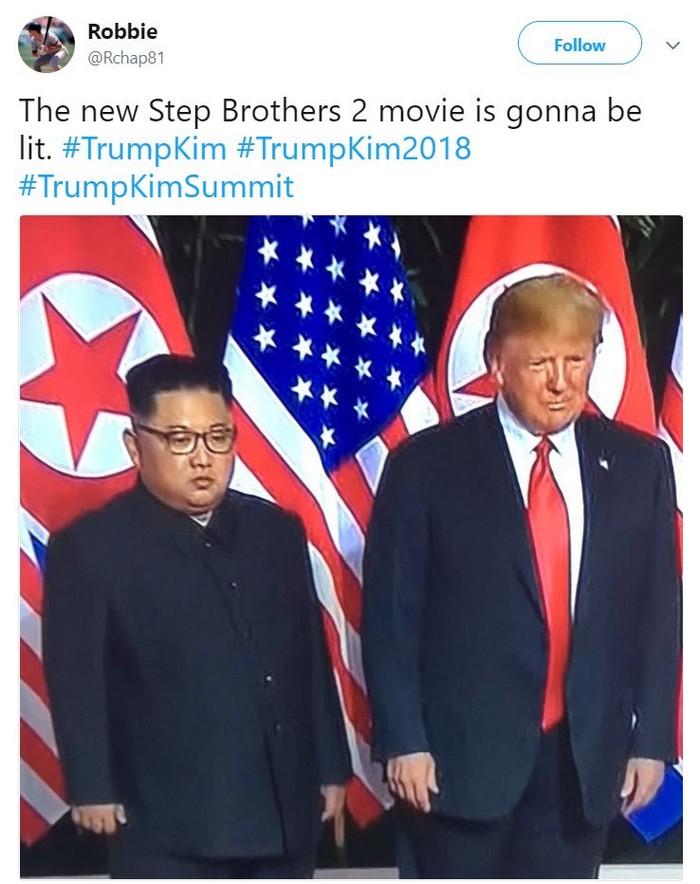 Funny Trump-Kim Jung-un memes