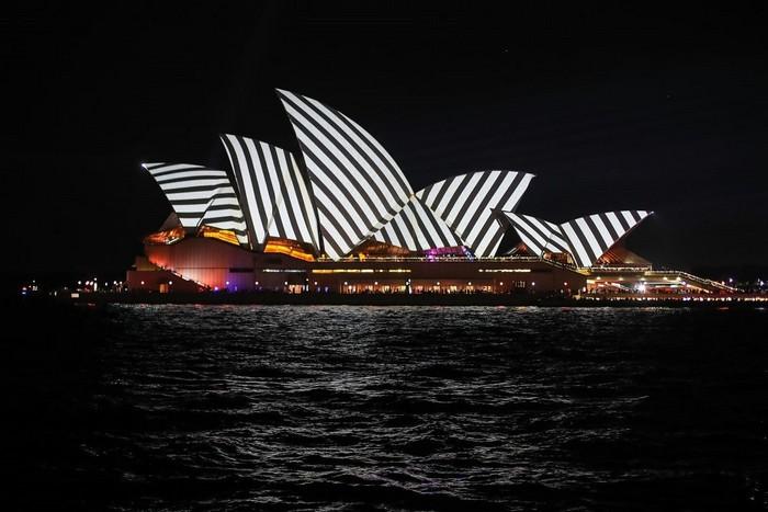 Photos from Vivid Sydney festival