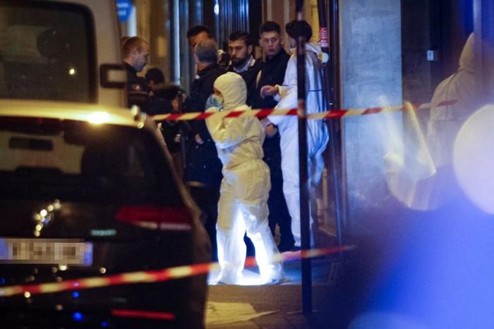Paris knife attack