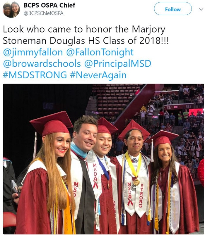 Jimmy Fallon Commencement Speech