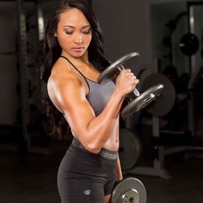 Leanna Carr training