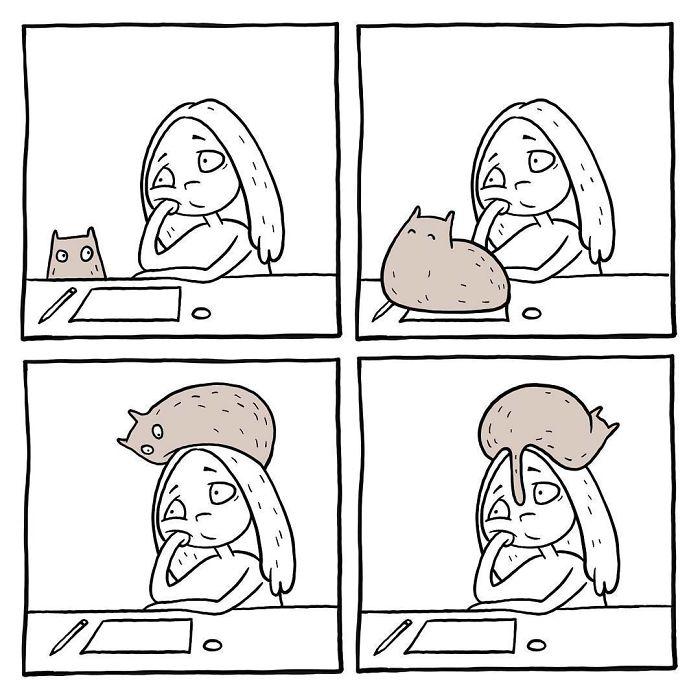 Funny comics by Russian artist Anastasia 'Stushona' Ivanova