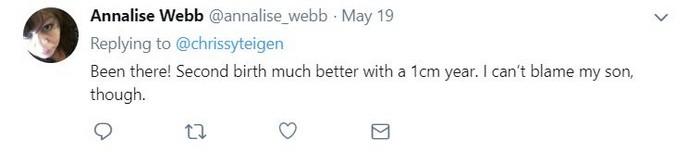 Chrissy Teigen postpartum tweets