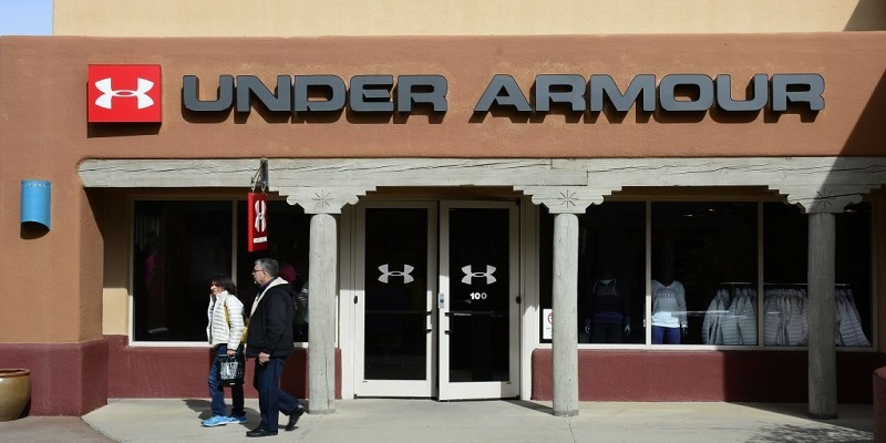 data breach 2017 - Under Armor sign