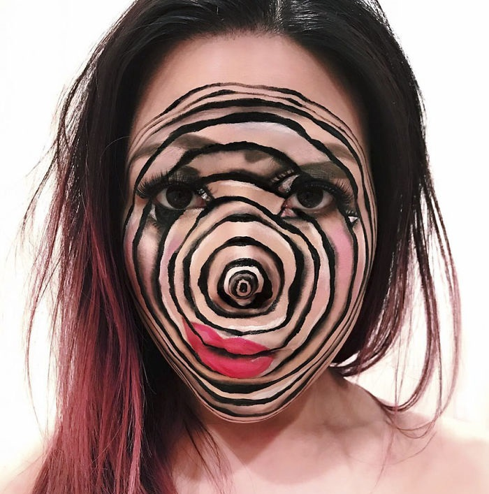 makeup illusions by Mimi Choi