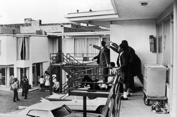 Photos from the Assassination of Dr. Martin Luther King, Jr.