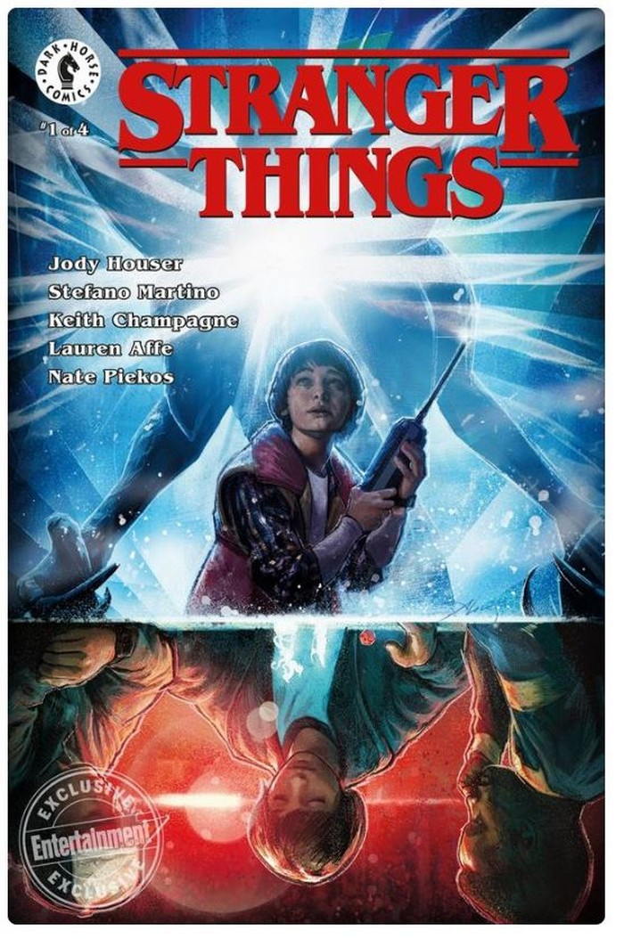 Stranger Things comics announcement