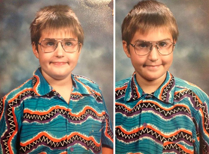 embarrassing childhood photos