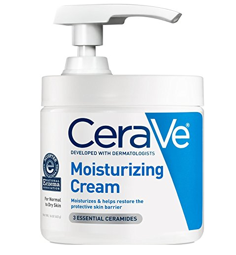 Cerave Moisturizing Cream Daily Face and Body Moisturizer for Dry Skin