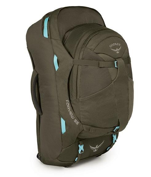 Osprey Packs Farpoint/Fairview 55 Travel Backpack