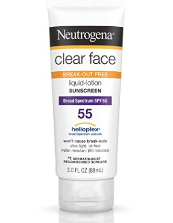Neutrogena Clear Face SPF 55