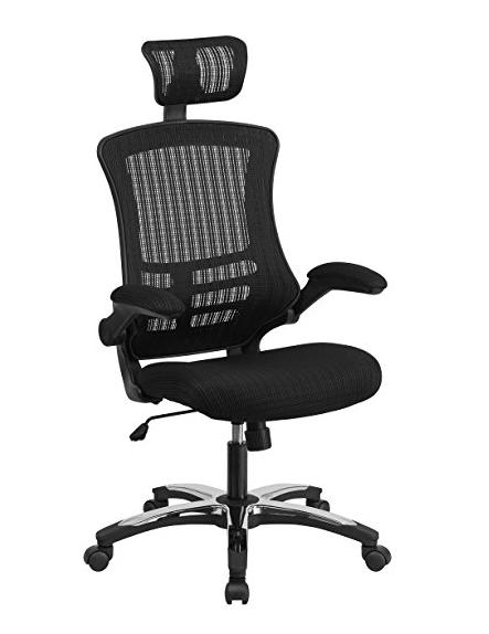Flash Furniture High Back Black Mesh Executive Swivel Chair